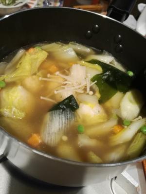 柚子こしょう香る鶏団子鍋♡