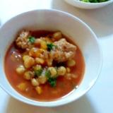 ひよこ豆のトマトシチュー