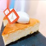 オレンジ風味のベイクドチーズ!