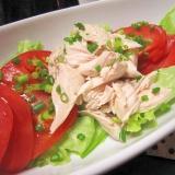 簡単★茹でササミで2度美味しいササミのサラダ