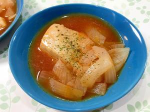 カジキマグロのケチャップ煮