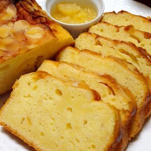 フルーツパウンドケーキです☆バター控えめクリチ入り