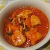 節約レシピ★鶏むね肉のトマト煮