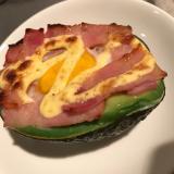 アボカドエッグ avocado egg
