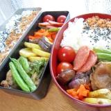 今日のお弁当♪インゲンと豚肉炒め(●^o^●)