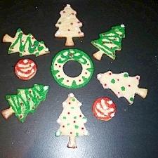 クリスマスに素敵なデコクッキー