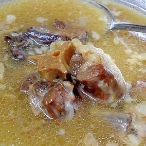 焼肉屋さんの☆ふわとろ「テールスープ」