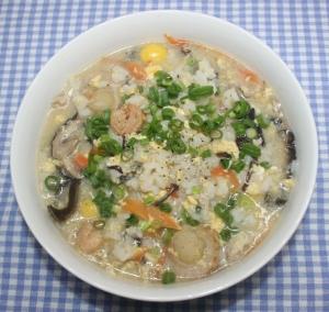 簡単☆具だくさん☆乾燥ご飯と乾燥食材で八宝雑炊