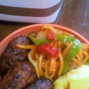 お弁当のおかず 昭和のイタリアンスパゲティー