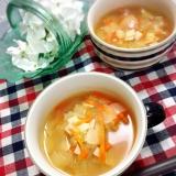 残ったらスープパスタに☆2度美味しい♡野菜スープ♡
