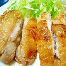 自信作(/・ω・)/鶏の味噌マヨ漬け焼き☆