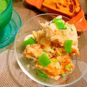 大葉と生姜佃煮の和風ポテトサラダ