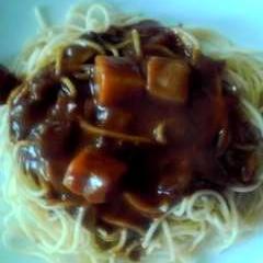 華麗(カレー)スパゲティ