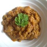 スパイスから作るラム肉のインドカレー