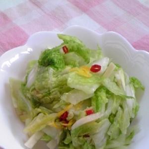 白菜の簡単ゆず漬け♪