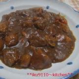 お肉を味わう大人の辛口カレー
