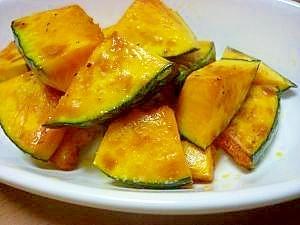 干し野菜レシピ♪かぼちゃのシンプルソテー♪