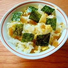 かんぴょうと炒り卵のすしご飯
