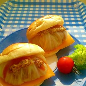 ロールキャベツ&チーズサンド