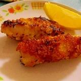 白身魚のパン粉焼き☆ガーリック風味