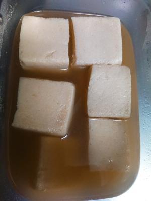 ひとくちサイズの高野豆腐