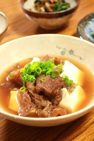 コラーゲンたっぷり♪ 牛すじ豆腐