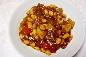簡単大豆カレー