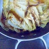 白菜と豚バラのミルフィーユ風