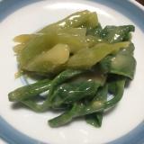 【山菜でおばんざい】山ウドの酢味噌和え