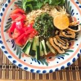 野菜たくさん♡冷やし中華