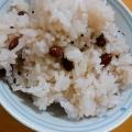 白米でも簡単赤飯‼