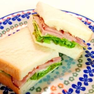 焼き豚サンド