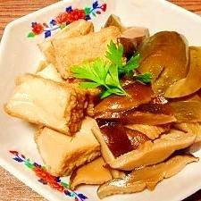 茄子と厚揚げ☆椎茸旨煮