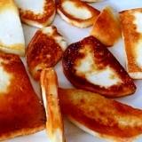 チーズを焼いたら! モッツァレラチーズのバター焼き