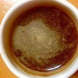 ブランデー入りピーナッツキャラメルシナモンコーヒー