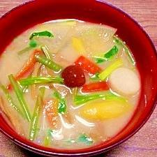 令和最初の七草☆納豆汁
