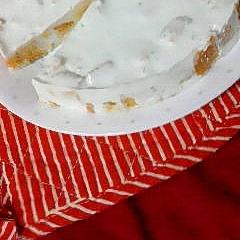 大豆粉のスポンジでヘルシーに♪ヨーグルトケーキ