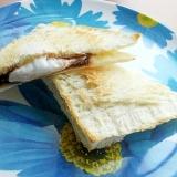 オーブントースター簡単ホットサンド♪(マシュマロ)