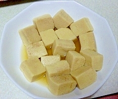 ふわふわ高野豆腐