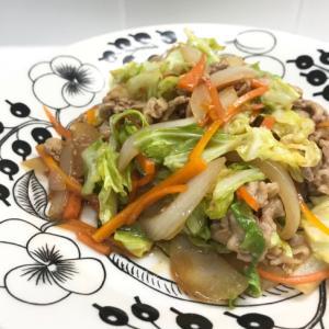 簡単!野菜炒め