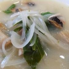 マッシュルームのココナッツスープ
