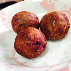 カリモチっ☆紫芋ドーナツ