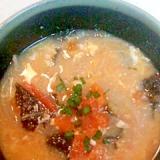 トマトと海苔のスープ