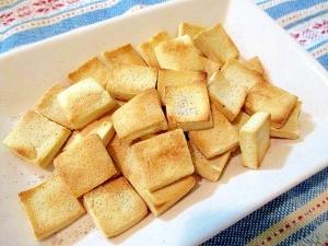 高野豆腐でサクふわヘルシースナック♪