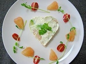 豆腐のわさびマヨサラダ