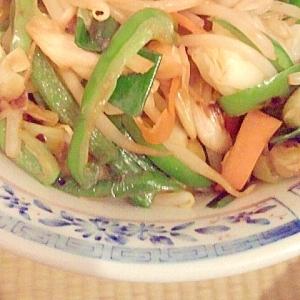 男の自炊料理。野菜炒め。ワンランク上のおっさん。