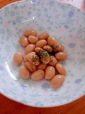 ヘルシーなおつまみ・おやつ◎大豆の酢漬け