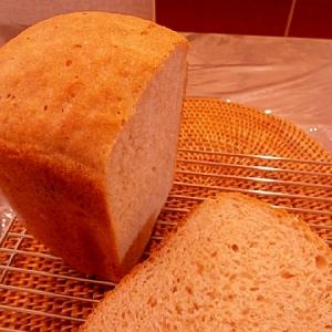 ホームベーカリーで早焼きライ麦パン(ライ麦粉3割)