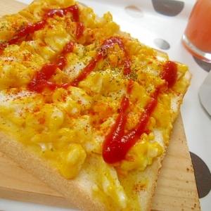 喫茶店モーニングの定番 エッグトースト