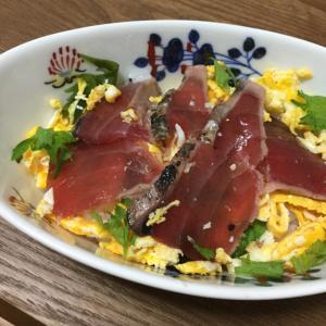 カツオのチラシ寿司